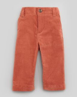 Baby Corduroy Pants, Rust, 6 24 Months   Marie Chantal   Rust (6M)