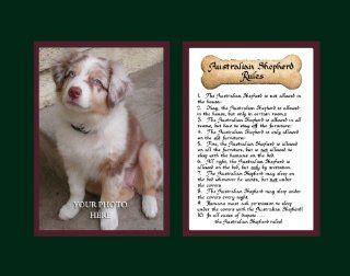 Dog Rules Australian Shepherd Wall Decor Pet Saying Dog Saying   Decorative Plaques