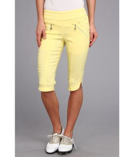 Jamie Sadock Skinnylicious 24 in. Knee Capri Womens Capri (Yellow)