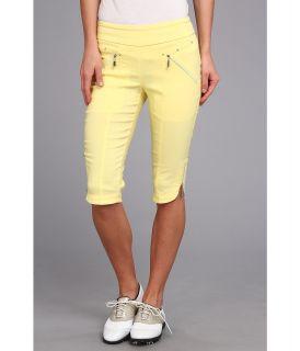 Jamie Sadock Skinnylicious 24 in. Knee Capri Womens Capri (Yellow)