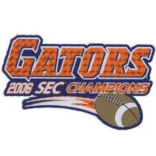 Florida Gators 2006 SEC Champions Logo Decal : Sports Fan Automotive Decals : Sports & Outdoors