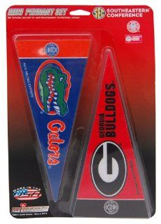 SEC Southeastern Conference Mini Pennant Set NEW Sets in Stock : Sports Fan Outdoor Penants : Sports & Outdoors