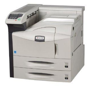 Kyocera 1102G12US0 model FS 9530DN 51 PPM B/W Black & White Laser Printer, Up to 51 ppm   B/W   A4 (8.25 in x 11.7 in), Up to 26 ppm   B/W   A3 (11.7 in x 16.5 in), Status LCD Built in Devices, Wired Connectivity Technology, Parallel, USB, Ethernet 10/