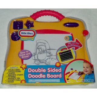 Double Sided Doodle Board: Toys & Games
