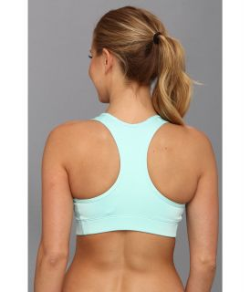 Nike Pro Victory Compression Sports Bra Glacier Ice/Atomic Orange