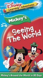 Disney's Learning Adventures   Mickey's Seeing the World [VHS]: Walt Disney: Movies & TV