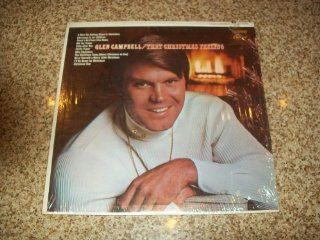 GLEN CAMPBELL   that christmas feeling CAPITOL 2978 (lp vinyl record): Music