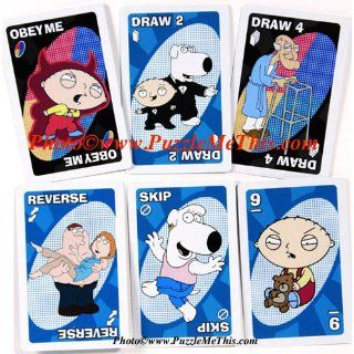 Family Guy UNO Card Game in Colorful Collector's Tin: Toys & Games