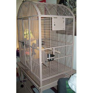A&E CAGE CO 32 Inch by 23 Inch Dometop Bird Cage : Pet Supplies