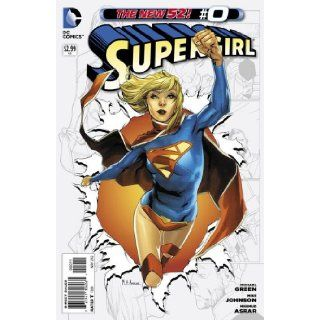 "Supergirl #0 ""On the Eve of Krypton's Destruction, Who Sent Supergirl From Krypton to Earth"" GREEN Books"