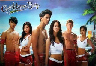 Girls' Generation 2PM Caribbean Bay POSTER 34 x 23.5 Korean boy band girl group TV SNSD Girl's Girls 2 PM p.m. Yuri (sent from USA in PVC pipe) : Prints : Everything Else