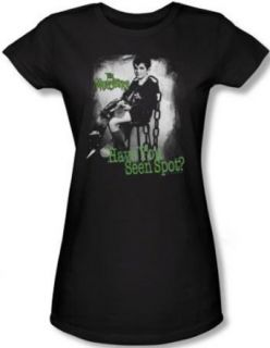 The Munsters Juniors T shirt Have You Seen Spot Black Tee Shirt Clothing
