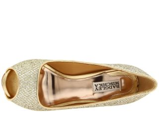 Badgley Mischka Humbie Ii Gold Glitter
