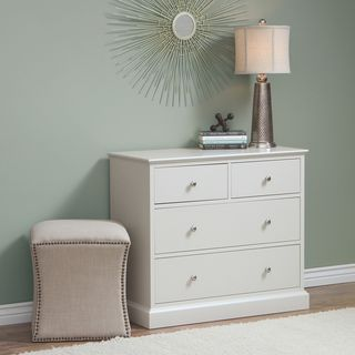 Ashby 4 drawer Dove Light Grey Dresser