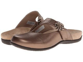 Vionic With Orthaheel Technology Joan Mary Jane Mule Bronze Metallic