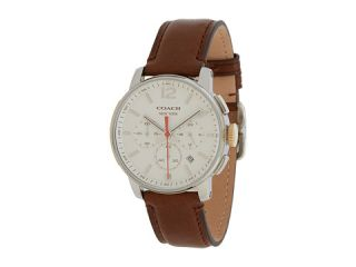 Coach Bleeker Chrono Leather Strap Watch