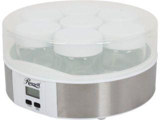Rosewill RHYM 13001 7 Glass Cups Digital Yogurt Maker
