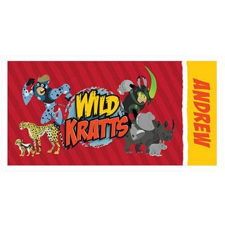 1342eb7852c6 Personalized Wild Kratts Creature Power Beach Towel on PopScreen