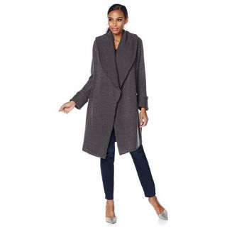 Jamie Gries Collection Wing Collar Car Coat   7831102