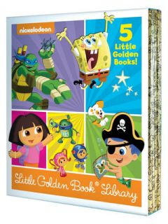 Nickelodeon Little Golden Book Boxed Set by Peguin Random House