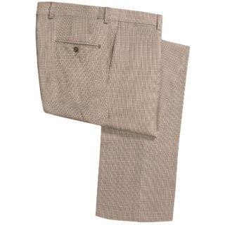 Riviera Armando Stretch Wool Plaid Pants (For Men) 5335H 44