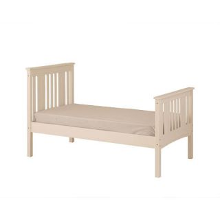 Canwood Base Camp Twin Bed   White    Canwood