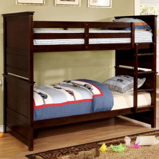 Camper Twin Over Twin Standard Bunk Bed by Hokku Designs