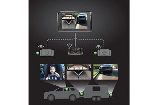 Yada BT54358 F 2   Backup Camera Expandable System   Backup Sensors & Backup Cameras