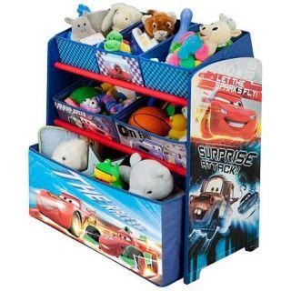 Disney   Cars Multi Bin Toy Organizer