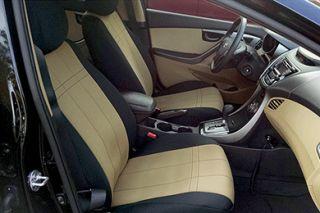 2007 2016 Jeep Wrangler Neoprene Seat Covers   CalTrend [PATTERN] 12NN   CalTrend NeoSupreme Seat Covers