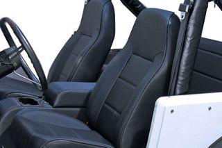 1997 2002 Jeep Wrangler Neoprene Seat Covers   Rugged Ridge 13261.09   Rugged Ridge Jeep Neoprene Seat Covers