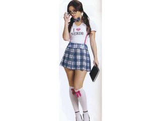 Adult I love Nerds Costume FunWorld 122574