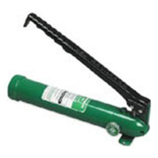 Greenlee 767 Hydraulic Hand Pump Manual
