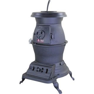 Vogelzang Cast Iron Pot Belly Stove — 75,000 BTU, Model# PB65XL