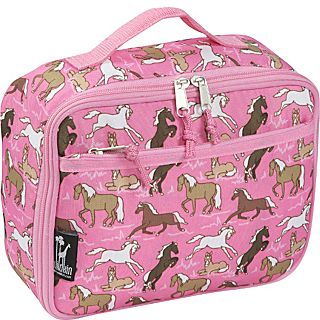 Wildkin Horses in Pink Lunch Box
