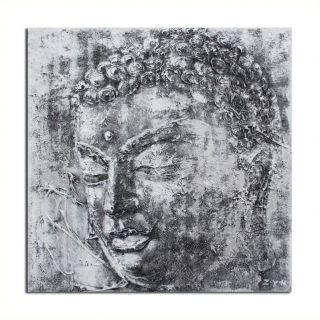 Safavieh Buddha Painting in Black And White   ART2008A