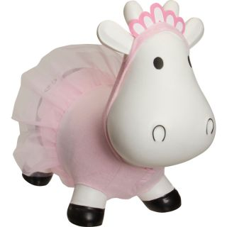 Trumpette Howdy Bouncy Rubber Cow with Ballerina Costume
