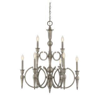 Shannon 9 Light Candle Chandelier by Savoy House