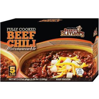 Sheriff Blaylock Premium Beef Chili   27 oz. packages   3 ct.