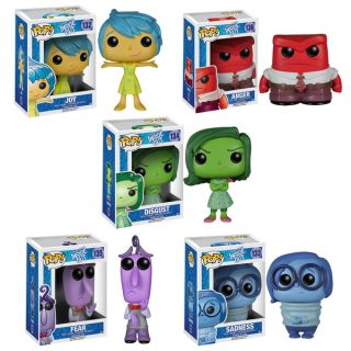Funko Inside Out Pop Disney/ Pixar Vinyl Collectors Set with Sadness