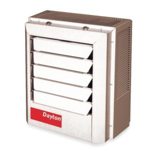 DAYTON Electric Unit Heater, Vertical or Horizontal, Voltage 208/240, 37.5/50.0 kW, 3 Phase   Electric Unit Heaters   2YU80|2YU80