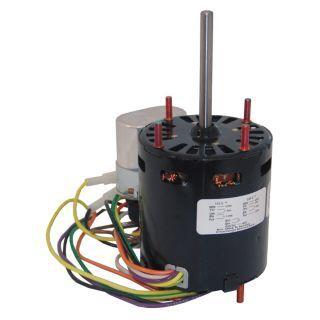 FASCO 1/12 HP, HVAC con Motor, condensador Permanente para Motor de Fase Partida, 1550 RPM Armazón, 115/230 V, Estructura 3.3   Motores de 3.3 in de Diámetro   38N557|D1127