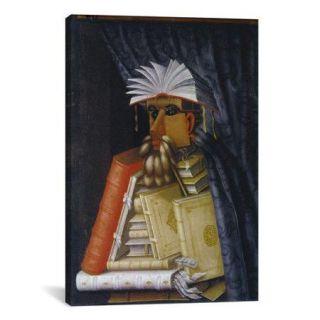 iCanvas 'The Librarian' by Giuseppe Arcimboldo Graphic Art on Canvas
