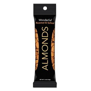 Paramount Farms Wonderful Dry Roasted & Salted Almonds 1.5 oz., 12/Box