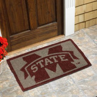 Mississippi State Bulldogs 18 x 30 Coir Welcome Mat