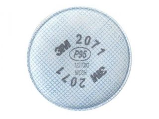 3M 2071 2000 Series P95 Particulate Filter, 1 Pack