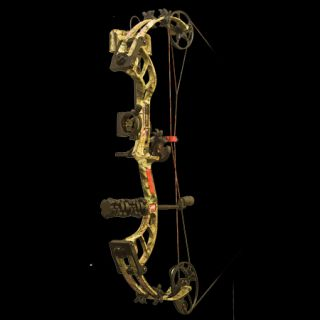 PSE Bow Madness 30 RTS Bow Package RH 50 lbs. Break Up Infinity