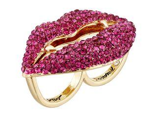 Betsey Johnson Dark Shadows Vampire Ring Pink, Women