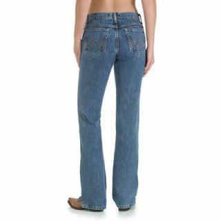 Wrangler Women's Cowgirl Cut Ultimate Riding Jean, Cash