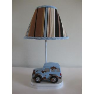Silly Bear Lighting Gone Muddin 16 H Table Lamp with Empire Shade